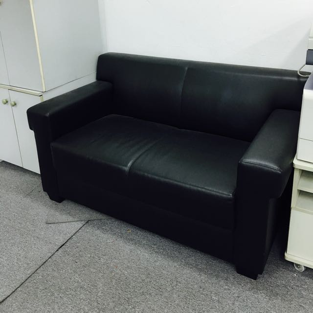 Office Sofa 2 Seater Furniture On Carousell