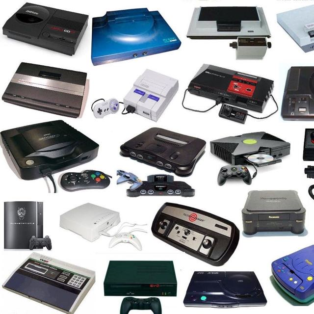 Old Gaming Consoles