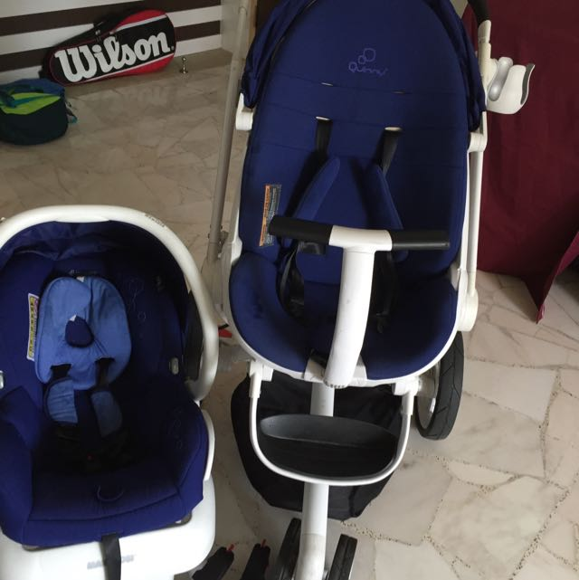 Reserved PL Quinny Moodd Stroller Bundle With Maxi Cosi AP Infant Car Seat Babies Kids On Carousell