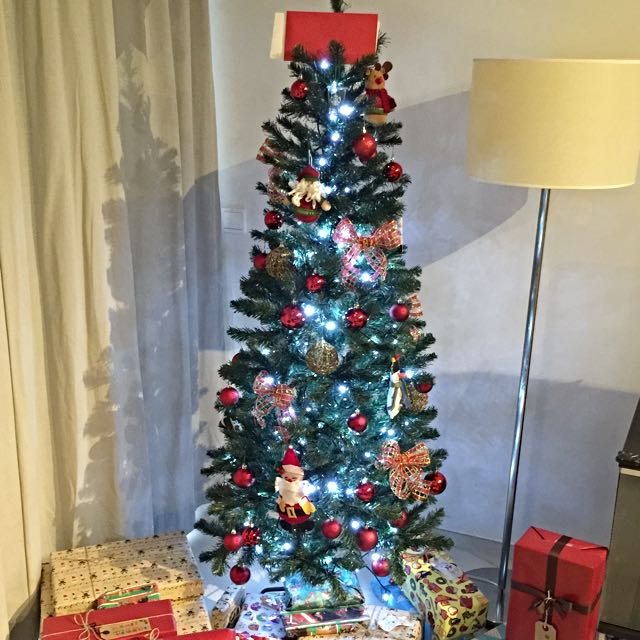 pollyanna christmas tree 2 meters tall from cold storage furniture on carousell - Christmas Pollyanna