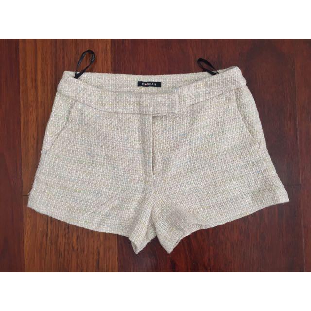 Tweed Short Morgan De Toi Paris Size XS