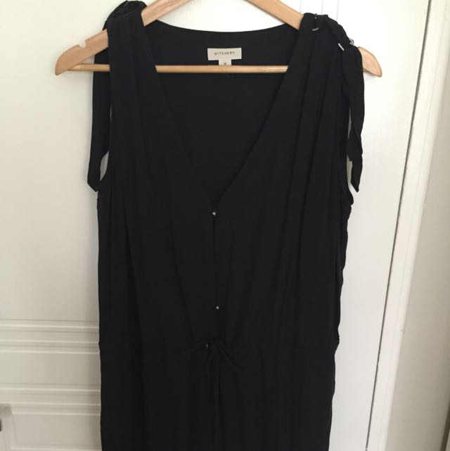 Witchery Black Jump Suit