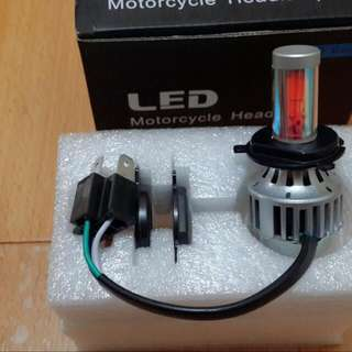 LED大燈,H4,24W白光,黃金光