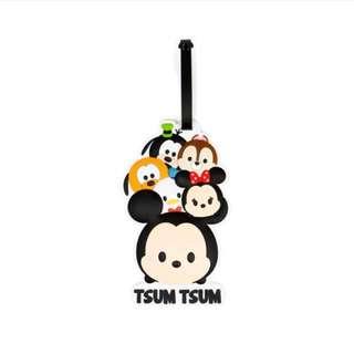 Original Choocolate Disney tsum tsum luggage tag