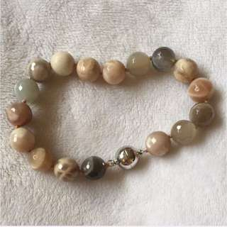 Bracelet With Magnetic Clasp ( STONES that ROCKS )