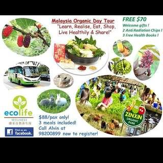 Organic Day Tour  😊🙌👍👍👍