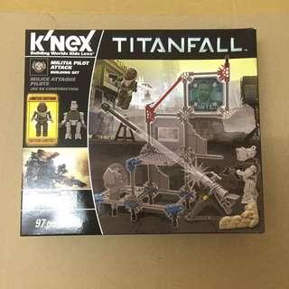 K'NEX - Titanfall - Militia Pilot Attack (Building Set)