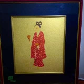 複刻唐代藝術畫