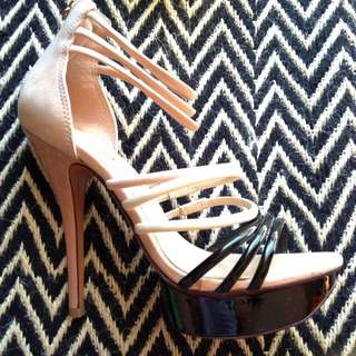 Aldo Leather Stilettos Sz 39