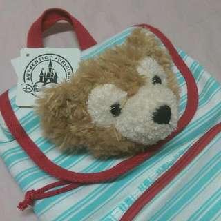 香港迪士尼 達菲熊 兒童後背包
