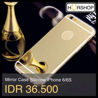 Iphone 6 / 6s Mirror Case Casing Silicone NOT FOR 4 4s 5 5s 6+