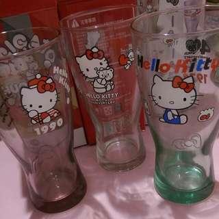🆕Hello Kitty  40週年 玻璃曲線杯