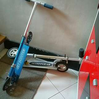 2 Kid Kick Scooter. One For Girl And Boy. Selling At 500php Each. Or Negotiable.