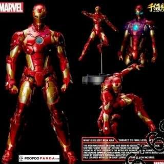 千值鍊 Iron Man Ironman Hottoy
