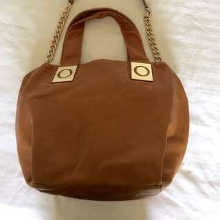 SALE 💥 Tan Oroton Slouch Bag