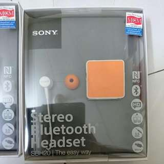 Sony Stereo Bluetooth Headset (new)