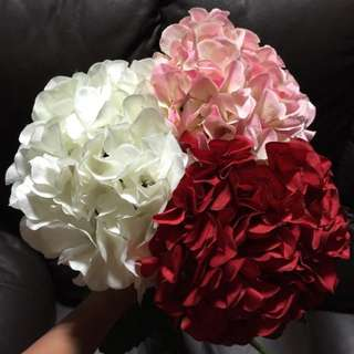 [Sellabrations] Artificial Fake Non Living Hydrangeas Flowers