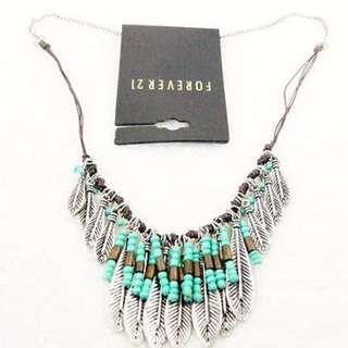 F21 Bohemian Necklace