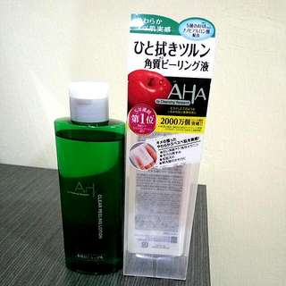 (Japan) Cleansing Research Clear Peeling Lotion AHA