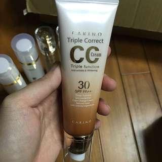 韓國Carino麗仁堂地漿水-CC裸妝保養隔離霜用(正品)韓國帶回