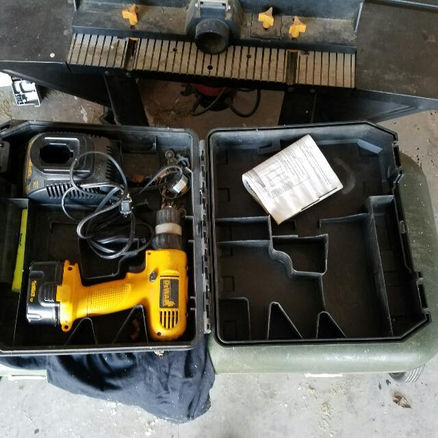 2 DEWALT Drills