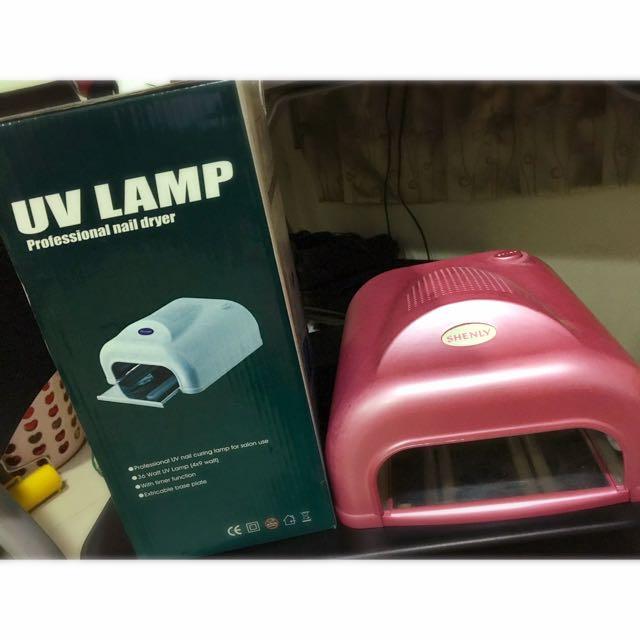 36W UV燈 粉紅光療機(含運)