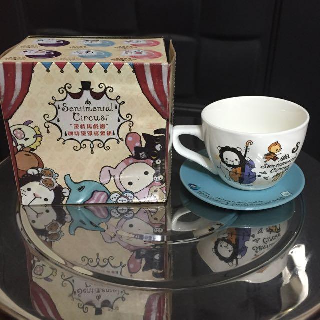 ✨711集點➡️深情馬戲團🎪甜蜜午茶小杯盤組-現貨