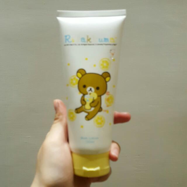 拉拉熊檸檬香潤膚身體乳