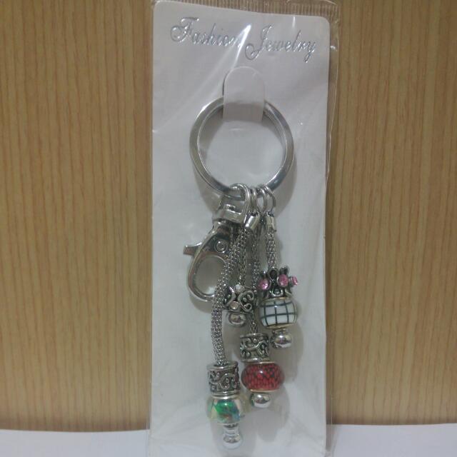串珠鑰匙圈