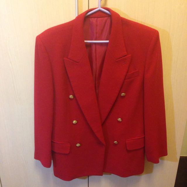 大降價💥日本紅大衣(含運)