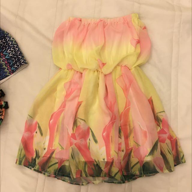 全新含運 平口夏日連身洋裝