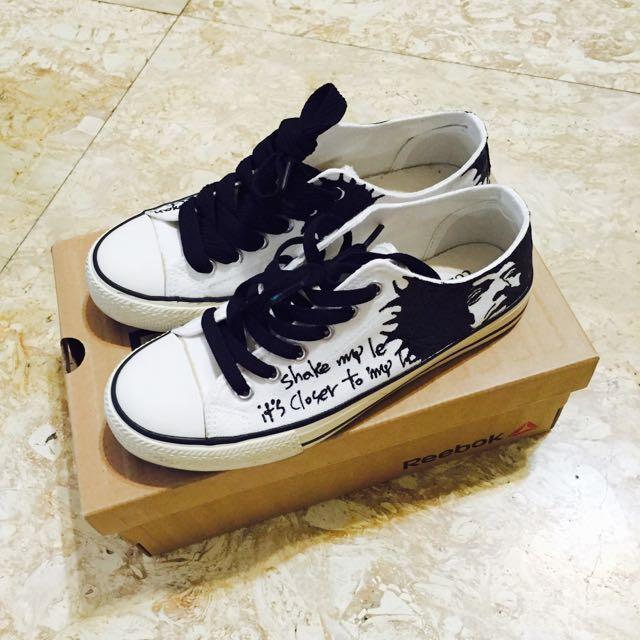 近全新✨獨一無二彩繪帆布鞋 韓國購入