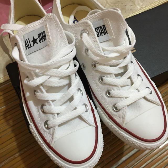 ALL STAR短筒帆布鞋(保留中)