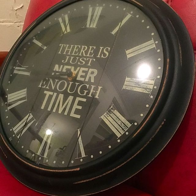 Clock. Operates on one AA Battery.