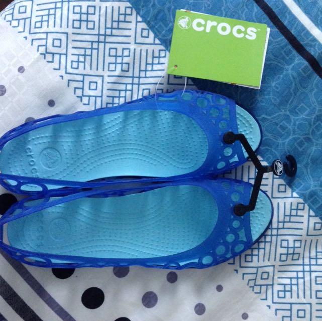ef11011703b3 Crocs Adrina Flat Women Blue