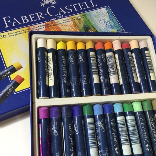 FABER-CASTELL 36色油性粉彩條