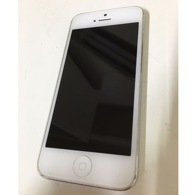 Iphone5 64G 蘋果 Apple Iphone 5-銀白