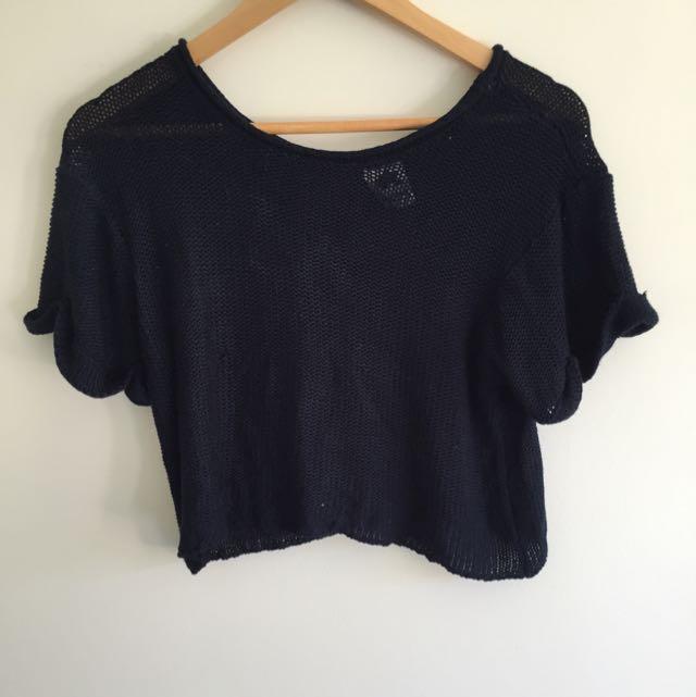 Knit T Shirt