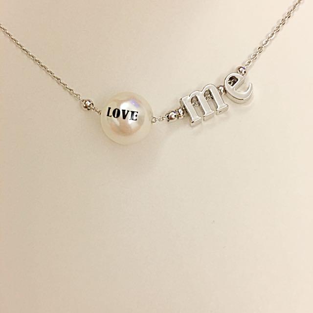 韓~love造型項鍊
