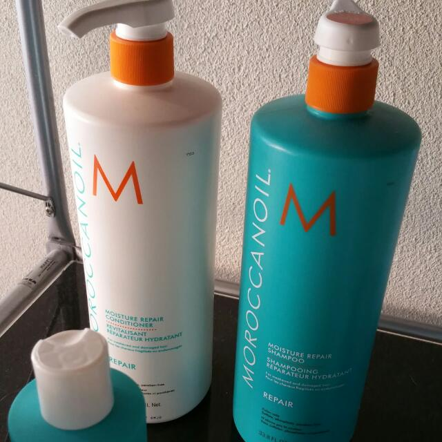 Moroccanoil shampoo And conditioner 1 Litre Bulk Size