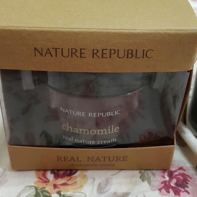 [Nature republic] 凈萃自然洋甘菊面霜
