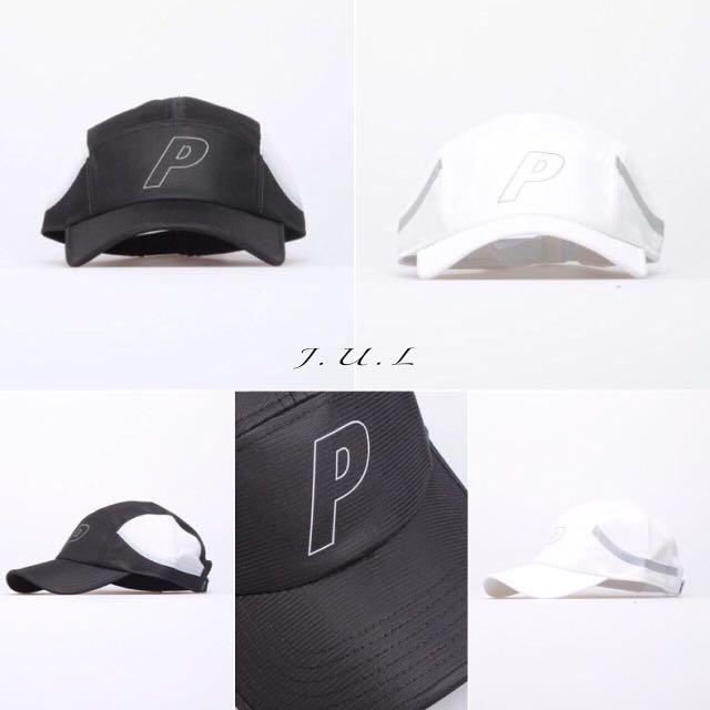 Palace 老帽 黑白 鴨舌帽