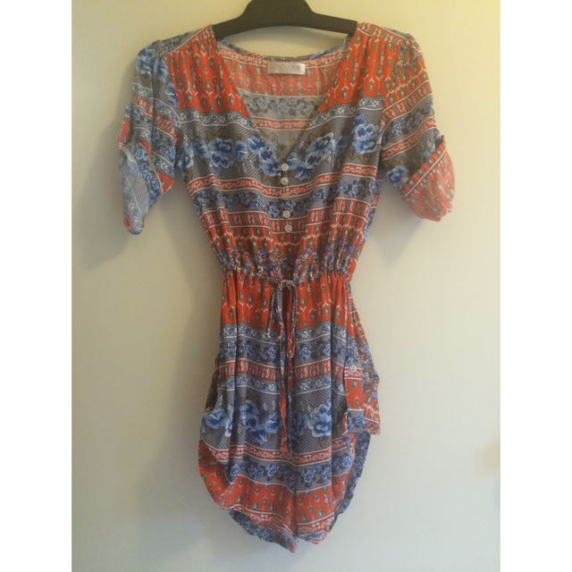 Size 8 Amor Mia Playsuit