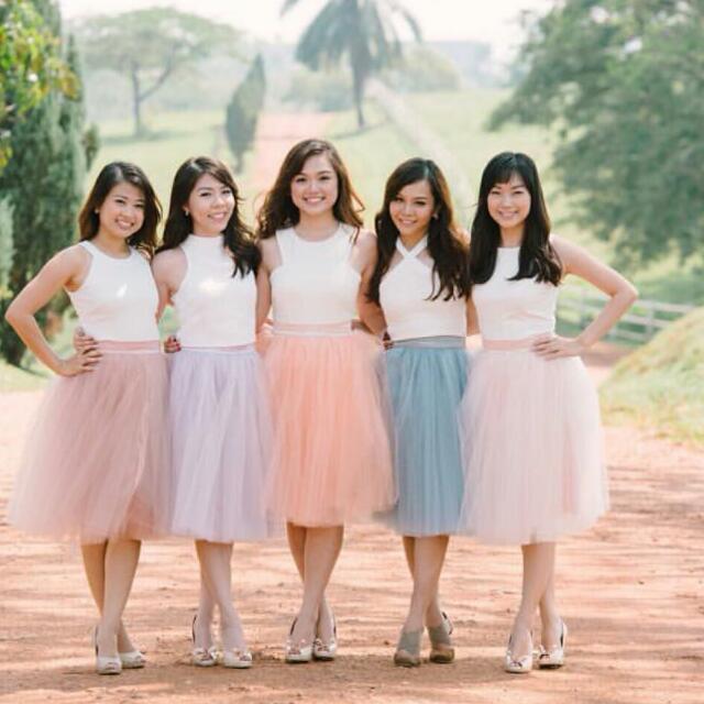tutu bridesmaid dresses