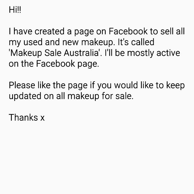 Used And New Makeup