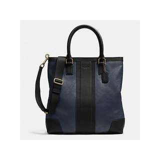 Coach Leather Business Tote/Shoulder Crossbody Bag - F71640 - List $598 USD