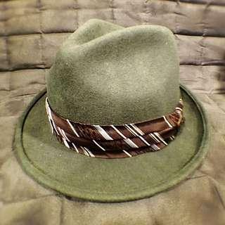 Goowin Bros 日本墨綠紳士帽