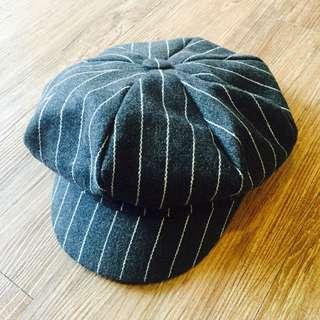 條紋蘋果帽