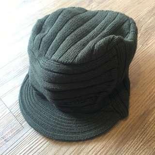 Carhatt 墨綠色毛帽
