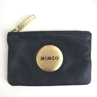 Real Mimco Pouch In Black (hardly Used)